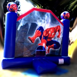 Chateau gonflable Spiderman