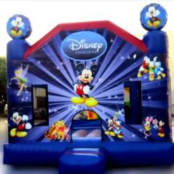 château gonflable Disney