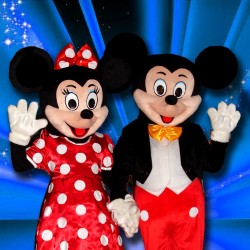 Mascotte Mickey ou Minnie