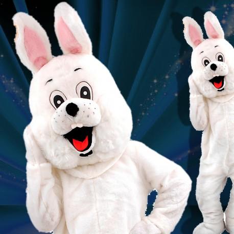Mascotte lapin Pâques ou magicien