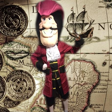 Mascotte Capitaine Crochet