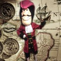 Mascotte Capitaine Crochet