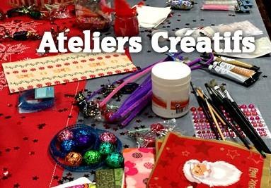 Ateliers créatifs pour fêtes arbres de noël et anniversaires