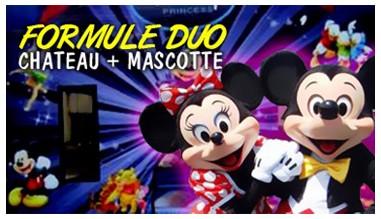 Château gonflable + mascotte : la formule anniversaire gagnante